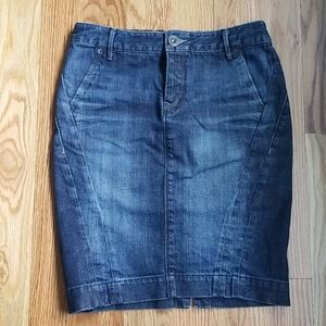 Sexy Express Denim Skirt Size 2